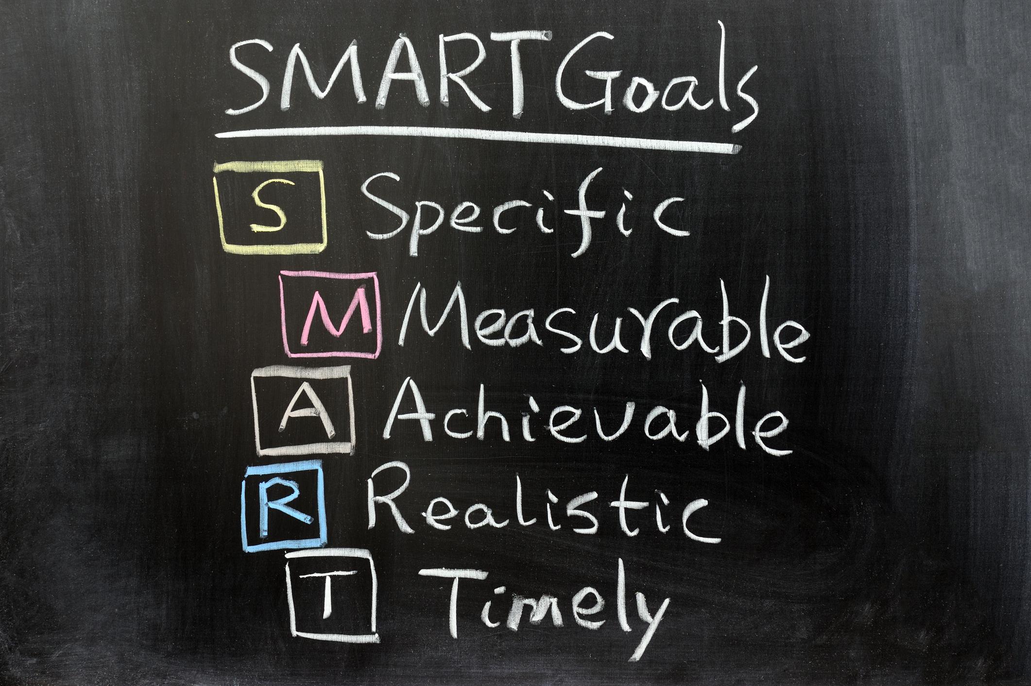 Smart goals billede